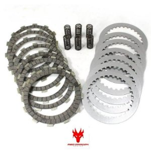 KIT DISCOS DE EMBREAGEM DISCOS+SEPARADORES+MOLAS HONDA CRF450X 05-16 CRF450R 04-05 RED DRAGON