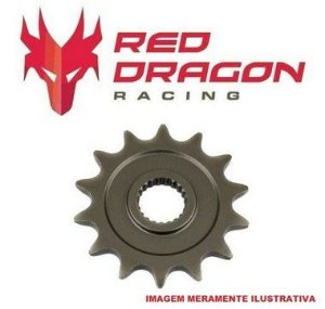 PINHÃO YAMAHA (14D) YZ250 99=> YZF450 04=> WRF450 04=> RED DRAGON