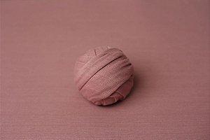 Wrap de Acabamento Flare - Rosa Envelhecido