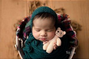 Little Tedy Ursinho Cozy - Rosa Claro