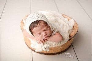 Little Tedy Ursinho Cozy - Off White