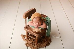 Little Tedy Ursinho Cozy - Amarelo Queimado