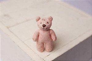Little Tedy Ursinho Flocado - Rosa