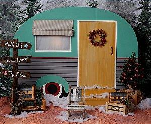 PRÉ VENDA - Cenário de Natal - Christmas On The Road