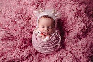 Flokati® PREMIUM - Rosa Bebê