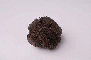 Cheesecloth - Marrom escuro