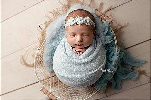 Cheesecloth - Azul Bebê