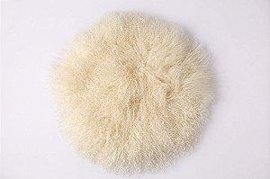 Pelo de Ovelha Curly - Natural