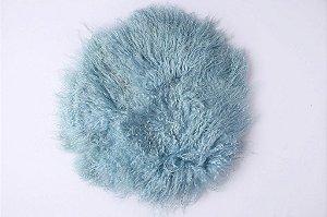 Pelo de Ovelha Curly - Azul