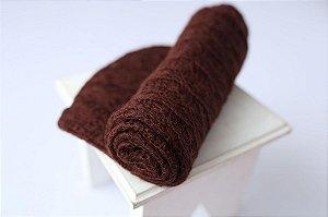 Wrap Mohair - Marrom