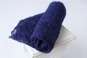 Wrap Mohair - Azul Marinho
