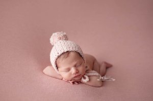 Manta Stretch - Rosa Bebê