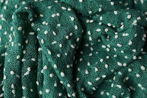 Manta Pipoca - Verde Escuro
