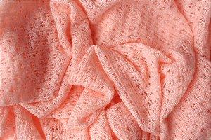 Manta Texturizada - Rosa