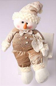 Boneco de Neve 45cm