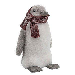 Pinguim Natalino 25cm