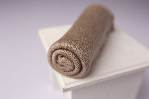 Wrap Knit - Cinza Natural