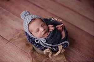Wrap Knit - Azul Prússia