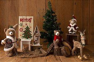 Cenário de Natal - Rústico