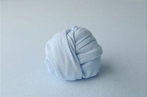 Manta Cream - Azul Bebê
