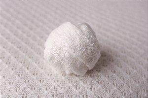 Wrap de Acabamento Love - Off White