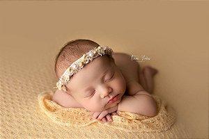 Wrap de Acabamento Texturizado - Amarelo bebê