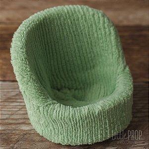 Capa para Posing Pod - Chenille Stripe Green
