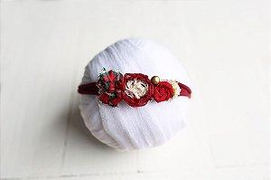 Headband - Poinsétia