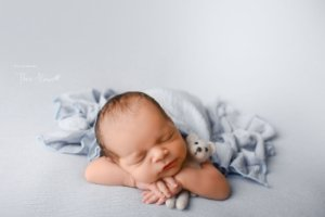 Manta Wave - Azul Bebê