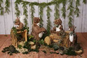 Cenário de Natal - Tedy Holidays
