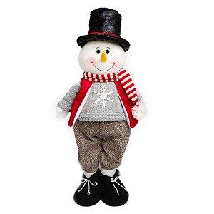 Boneco de Neve em Pé 54cm
