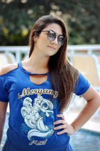 Blusa Mermaid - Blue