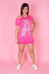 Vestido Awesome - Pink