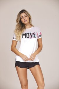 T-Shirt Move - White