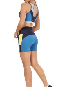 Conjunto Athletic Cut - Blue