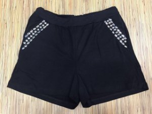 Shorts Pedraria - Black