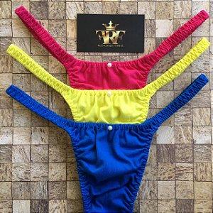 Calcinhas Lolitas Fitness - Trio Bali - Rio Fashion Fitness