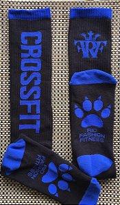 Meião Crossfit Wod - Royal Blue