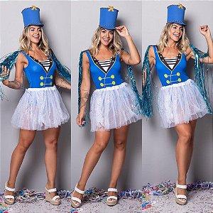 Body Paquita - Azul