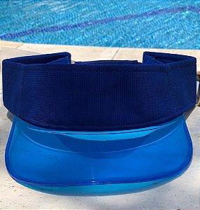 Viseira Transparente - Blue