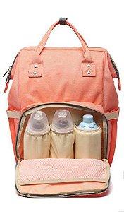 Bolsa Mochila Maternidade Térmica - Rosé