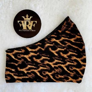 Máscara Comfort - Animal Print