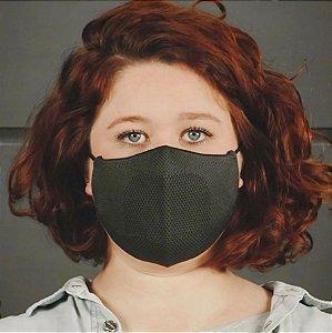 Máscara Anatômica Feminina - Verde Militar