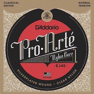 Encordoamento Violão Nylon D'Addario Ej 45 C - Pro.Arté