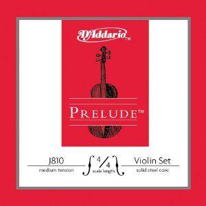 Encordoamento Violino Daddario J810 Prelude Media