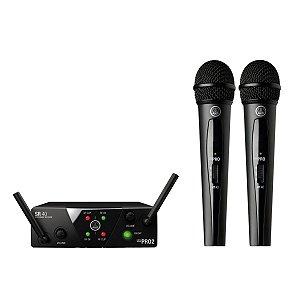 Microfone Duplo WMS40 Mini 2 Vocal - AKG