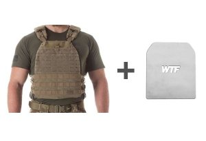 Colete 5.11 TacTec Plate Carrier (Colete Oficial dos Games)
