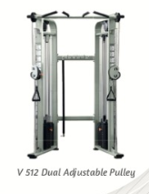 Dual Adjustable Puley 2x225lb - Wellness