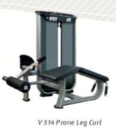 Prone Leg Curl (flexora deitada) 180lb - Wellness