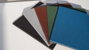ECO²PLAY - 50x50x15mm - CINZA (valor por m²)